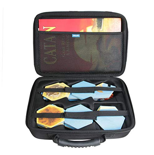 Anleo Travel Case for Catan The Board Game + Catan Expansion - Seafarers / 5-6 Player / Cities & Knights (Only Case)