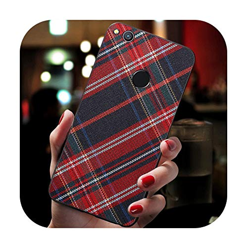 Tweed - Carcasa de silicona para Huawei P8 P10 P20 P30 P9 Lite Mini P20 P30 Pro Cover-B9 para P20 Lite 2018
