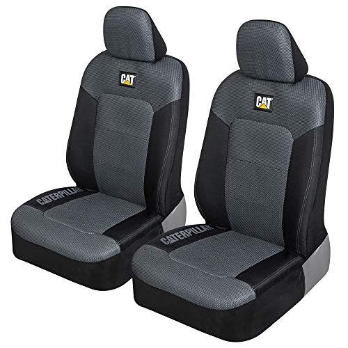 Caterpillar MeshFlex Automotive Seat Covers for Cars Trucks and SUVs (Set of 2)...