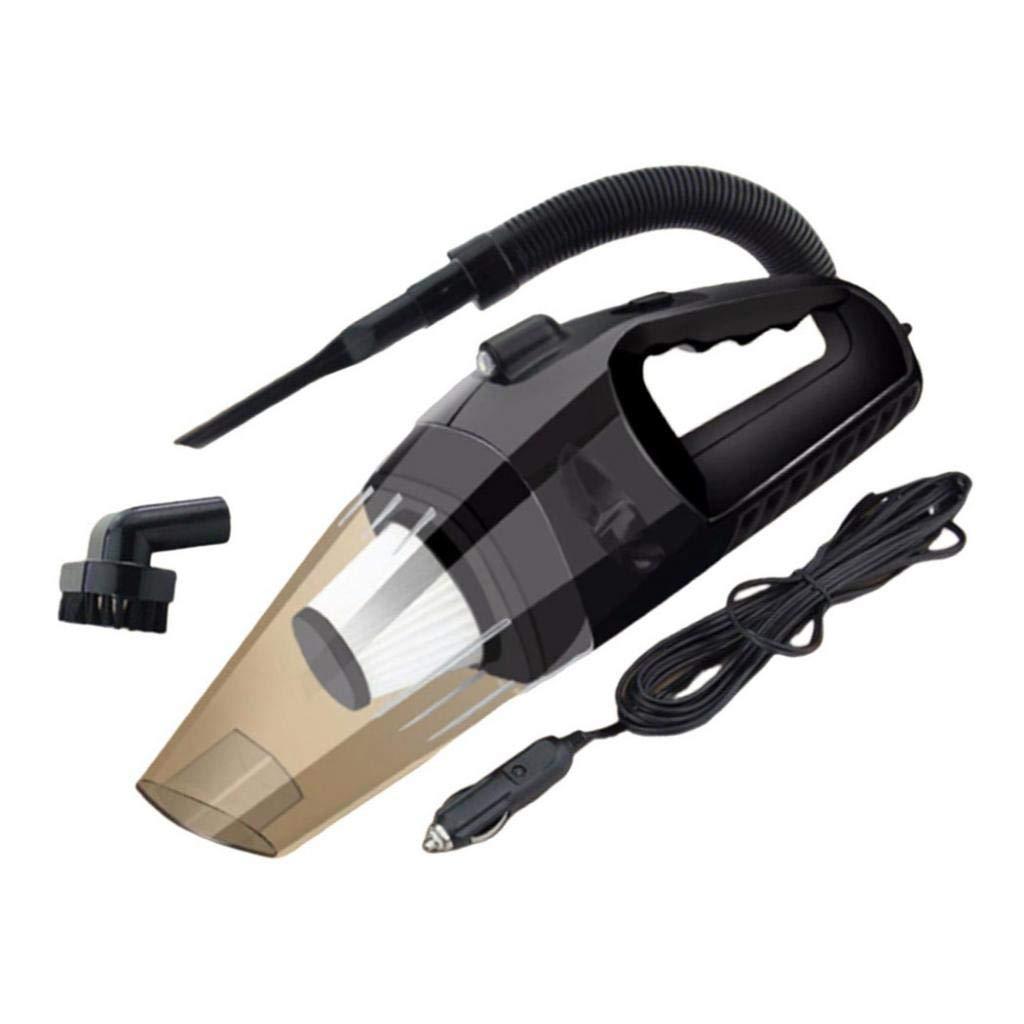 FLAMEER Aspiradora y Cable y Boquilla Grieta y Manguera Extensión y Cepillo y Boquilla Manguera Aspirador de Coche de Multifuncional para Filtro Hepa - Negro con luz: Amazon.es: Hogar