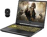 "2021 Flagship Asus Tuf A15 Gaming Laptop 15.6"" FHD 144Hz AMD Octa-Core Ryzen 7 4800H (Beats i7-9750H) 32GB DDR4 1TB SSD 1TB HDD GTX 1660 Ti 6GB RGB Backlit DTS Webcam Win 10 + iCarp Wireless Mouse"