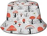 Sombrero de Cubo de Viaje con Estampado de sandía Unisex, Gorra de Pescador de Verano, Sombrero para el Sol, Seta Colorida