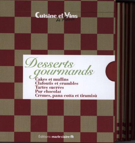 Coffret bibliothèque Desserts Gourmands PDF Books