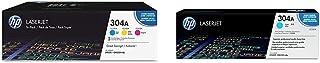 $501 » HP 304A | CC531A, CC532A, CC533A | 3 Toner Cartridges | Cyan, Yellow, Magenta & 304A | CC531A | Toner Cartridge | Cyan