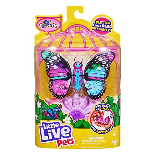 Little Live Pets -Lil' Butterfly - Rare Wings - Series 4