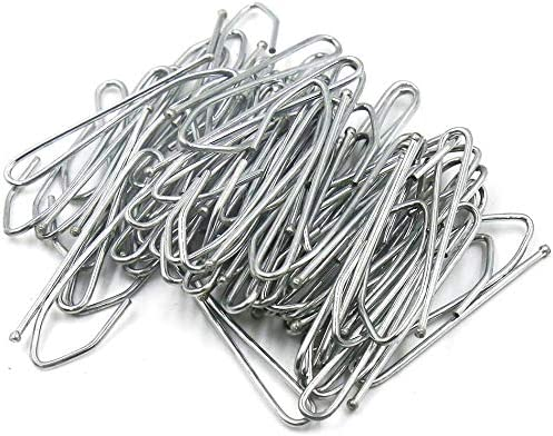 100 Pcs Single Prongs Manufacturer OFFicial shop Hooks 5 ☆ popular Metal Curtain