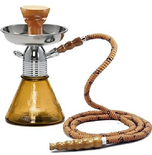 Mya Saray The Petite Mya 8' Single Hose Hookah (Amber)