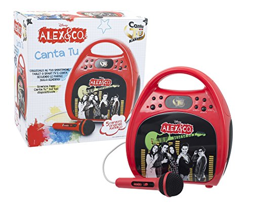 Giochi Preziosi Alex & Co Macchina Karaoke, ALE00000