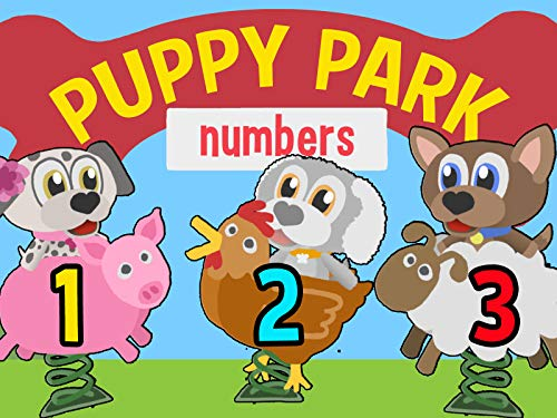 Learn to Count 1 - 10 with Puppy Park