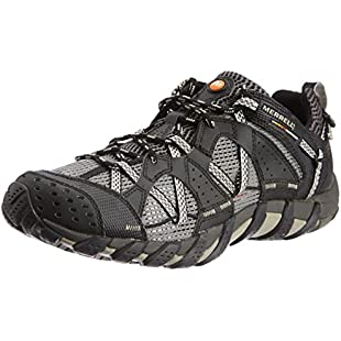 Merrell Watepro Maipo, Men Multisport Outdoor Low Rise Hiking Shoes, Black (Black), 10 UK (44.5 EU):Viralinfo