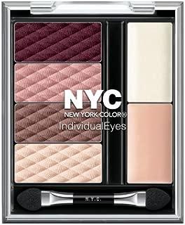 N.Y.C. New York Color Individual Eyes, Midtown Mauves (Brown Eyes), 0.056 Ounce