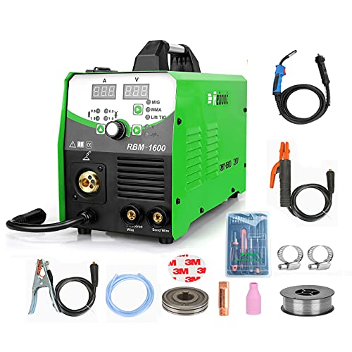 Reboot MIG Welder Machine Gas/Gasless 4 in 1...
