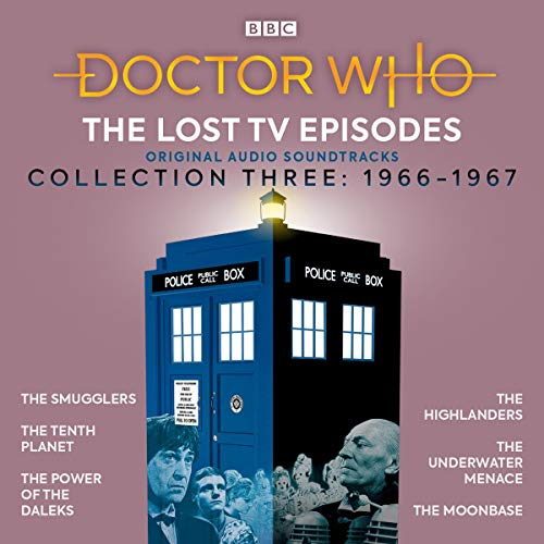 Doctor Who: The Lost TV Episodes Collection Three audiobook cover art