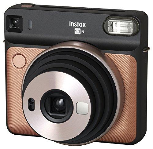 Fujifilm Instax Square SQ6 - Instant Film Camera - Blush Gold
