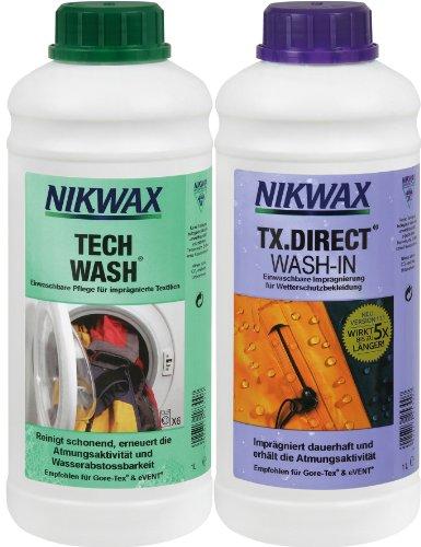 bester Test von impragnier waschmittel fur skibekleidung VAUDE Nikwax Tech Wash TX Direktpflegemittel, 30311