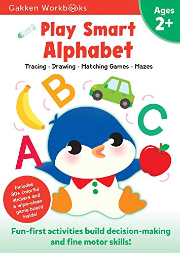 Play Smart Alphabet Age 2+: At-Home Activity Workbook