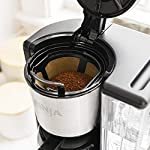 Ninja 12-Cup Programmable Coffee Maker with Classic and Rich Brews, 60 oz. Water Reservoir, and Thermal Flavor… 16 Hotter brewing technology: Advanced boiler for a perfectly hot cup of coffee Wake upto hot coffee 24 hour programmable delay brew allows you to prepare your brew upto a day in advance Keep coffee fresh and flavorful upto 4 hours with the adjustable warming plate