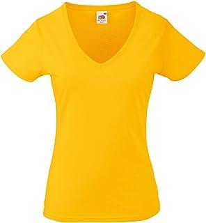 686895ec Amazon.co.uk: Yellow - Tops, T-Shirts & Blouses / Women: Clothing