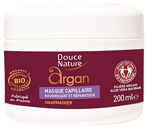 DOUCE NATURE Masque capillaire à l'huile d'Argan - 200ml
