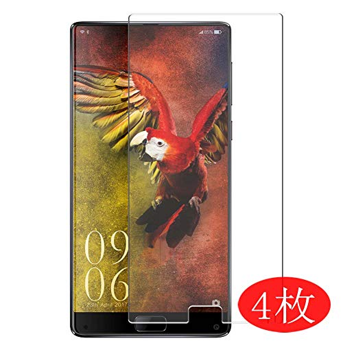 【4 Pack】 Synvy Screen Protector for Elephone S8 0.14mm TPU Flexible HD Clear Case-Friendly Film Protective Protectors [Not Tempered Glass] New Version