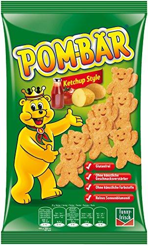 Pom-Bär Pom-Bär Ketchup, 4er Pack (4 x 75 g)