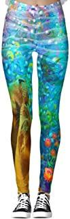 DIYCCY - Pantalones de yoga para mujer de cintura alta
