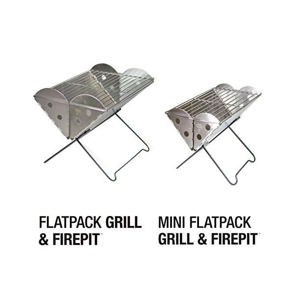 UCO Mini Flatpack BBQ & Grill 1
