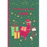 FA LA LA LA LLAMA: Lined Journal Notebook to Write In, Perfect Gift Idea For Teens,Girls, Kids,Tweens,Woman,Friends, Thanksgiving ,Black Friday ,Christmas ,With Cute Xmas Themed .(6x9 in 100 Pages)