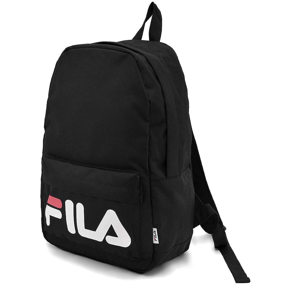 立方体フェンス支援する(フィラ) FILA ブランド ロゴ デザイン リュック リュックサック