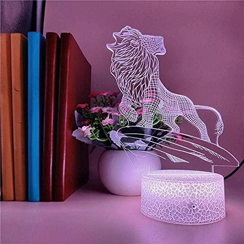 Luz Nocturna Infantil, Luces nocturnas Ilusión 3D Auriculares para niños con mando a distancia y 16 colores cambiantes y función regulable, regalo de cumpleaños para jóvenes, niñas, hombres