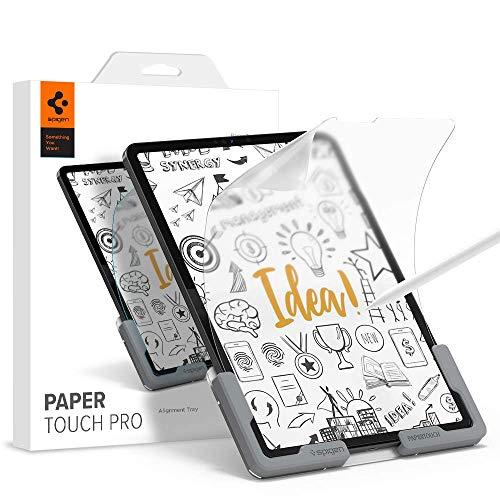 Spigen PaperTouch Textura de Papel Pro Protector Pantalla para iPad Pro 12.9 2021, 2020, 2018-1 Unidad