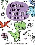 Colorea y crea tu Pop-up. Dinosaurios