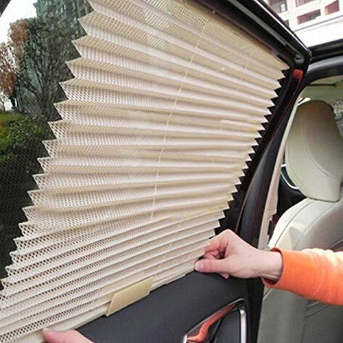 Fijnere auto Truck Auto intrekbaar zijraamgordijn Zonnescherm Blind zonnescherm, GRIJS