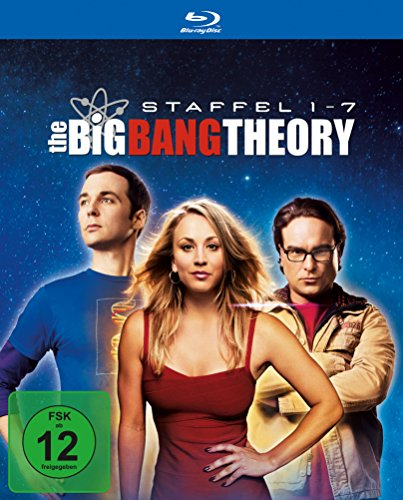 Cover The Big Bang Theory - Staffel 1 bis 7 (exklusiv bei Amazon.de) [Blu-ray] [Limited Edition]