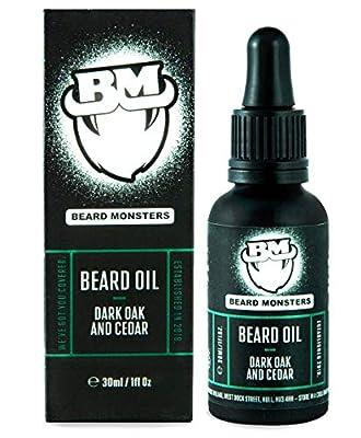 Beard Monsters Beard Oils 3Oml (Dark Oak and Cedar) from Beard Monsters