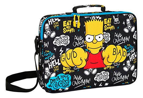 Safta - Los Simpsons - Cartera bandolera escolar