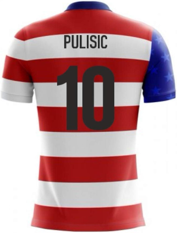 2018-19 USA Airo Concept Home Shirt (Christian Pulisic 10)