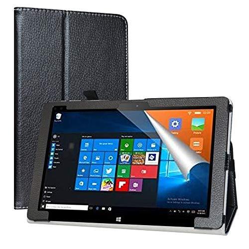 """Labanema Custodia con ALLDOCUBE iwork10 PRO, PU Pelle Slim Flip Case Cover Protettiva Pieghevole Stand Cover per 10.1"""" ALLDOCUBE iwork10 PRO 2-in-1 Tablet - Nero"""