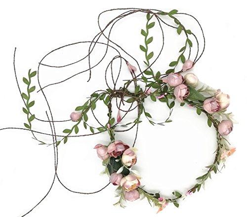 Best flower head wreath for maternity shoot for 2020