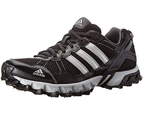 adidas Performance Men's Thrasher 1.1 M Trail Running Shoe, Core Black/Metallic/Silver/Light Onix, 8 M US