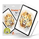 KAN [2 Pack] Paperfeel Screen Protector for New iPad Air 4 10.9 Inch (4th Gen 2020), Support Anti Glare/Face ID, Compatible with Apple Pencil Matte Film Like Paper