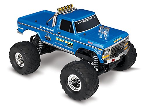 RC Monstertruck kaufen Monstertruck Bild 1: Traxxas Bigfoot No.1 Brushed 1:10 RC Modellauto Elektro Monstertruck Heckantrieb RtR 2,4 GHz*