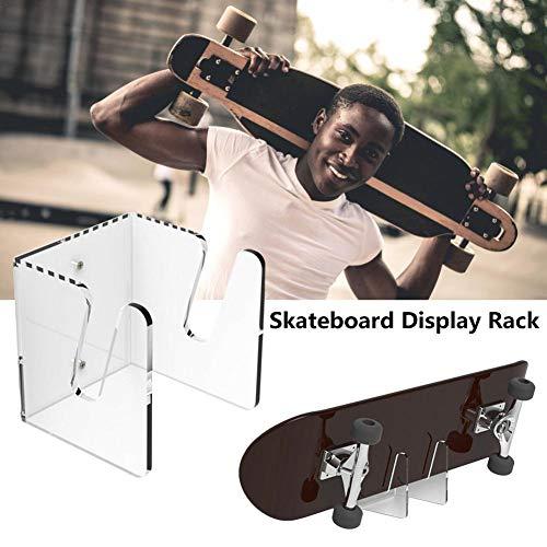 Wetour Skateboard wandhanger display rack, onzichtbare doorzichtige muurbevestiging houder, skateboard opbergstandaard voor het opbergen van je skateboard of longboard skate cost-effective