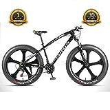 TBAN Neumático Ultra Ancho Bicicleta De Montaña, Bicicleta De Nieve En La Playa, Hombres Y Mujeres Adultos, 5 Velocidades Opcionales, Bicicleta De Ciudad,B,24speed