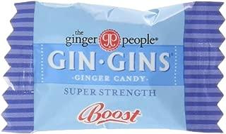 Gin Gins Super Strength Caramel Ginger Candy, 2lb Bulk Bag