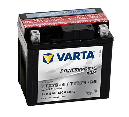 VARTA 507902011A514 Autobatterien Moba Fun-Start AGM LF 12 V 5 mAh 110 A