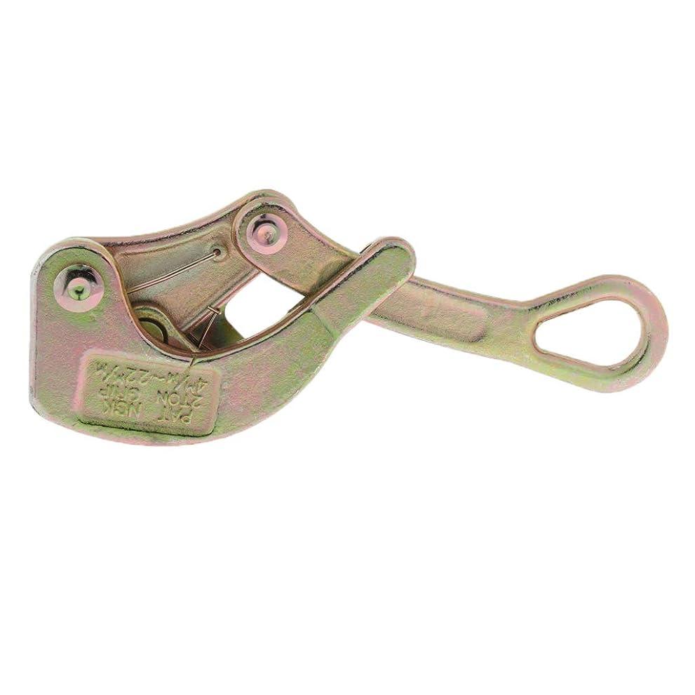 誇大妄想ジャンク期待してワイヤクランプ 絶縁ワイヤーグリップ 合金鋼製 ワイヤ引っ張りツール