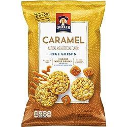 Quaker Rice Crisps, Caramel Corn, 3.52 oz Bag (Packaging May Vary)
