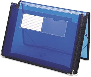 Smead Poly Expanding File Wallet with  Closure, 2-1/4