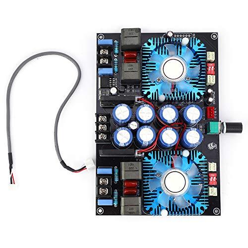 Placa amplificadora de potencia de audio Dgtrhted TDA8954TH 2 canales con ventilador 2 x 420 W CA 24 V